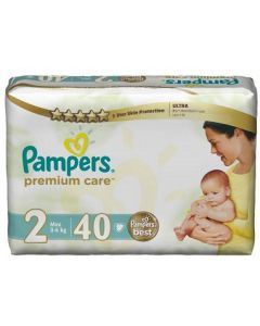 Pampers Premium Size 2 (40 Diapers)