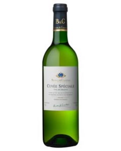 Buy B&G CUVEE SPECIALE BLANC 75cl (Pack of 6)