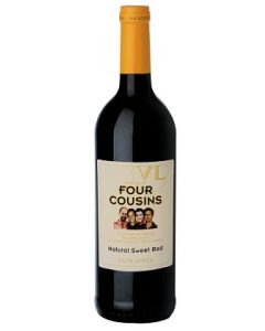Buy FOUR COUSINS RED 75cl (Pack of 6)