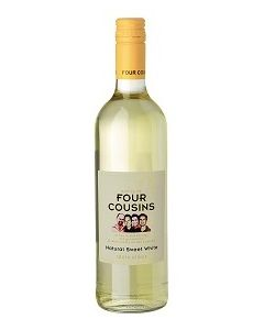 Buy FOUR COUSINS WHITE 75cl (Pack of 6)