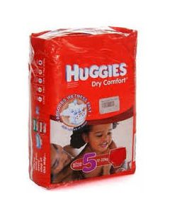 Huggies Dry Comfort Size 5 (32 Diapers)