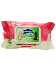 Dr Brown's Baby Wipes (100 Sheets)