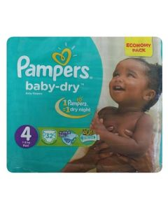 Pampers Baby Dry Size 4 (32 Diapers)