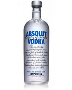 Buy ABSOLUT BLUE 1Ltr (Pack of 6)