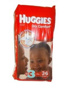 Huggies Dry Comfort Size 5 (7 Diapers)