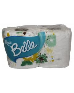 ROSE BELLE TOILET TISSUE (2in1)