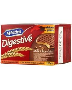 Mcvities Digestive Chocolate 200G