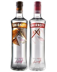 SMIRNOFF VODKA X1 75CL (Pack of 12)